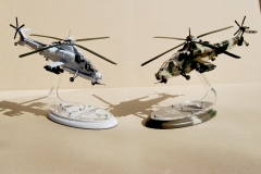 Rooivalk 1/48 Scale model helicopter (white & camo)
