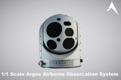 1.1 Scale Argos Hensoldt Airborne Observation System scale model (1)