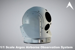 1.1 Scale Argos Hensoldt Airborne Observation System scale model (3)