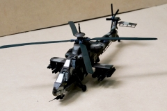 Rooivalk 1/48 Scale model helicopter (camo) (2)