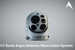 1.1 Scale Argos Hensoldt Airborne Observation System scale model (2)