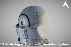 1.1 Scale Argos Hensoldt Airborne Observation System scale model (4)