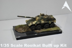 1/35 Scale Rooikat Built up Kit