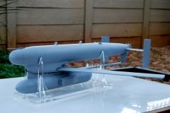 RAPTOR-MISSILE Scale model