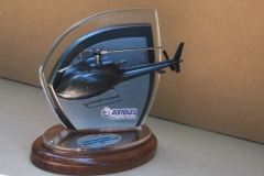 Airbus 3D helicopter trophy