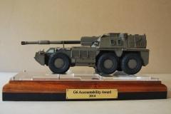 Denel scale G6 trophy