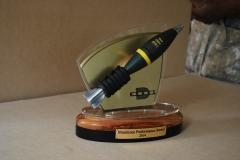 Denel scale munition trophy/ award