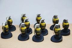Scale grenade trophy/ gift (1)